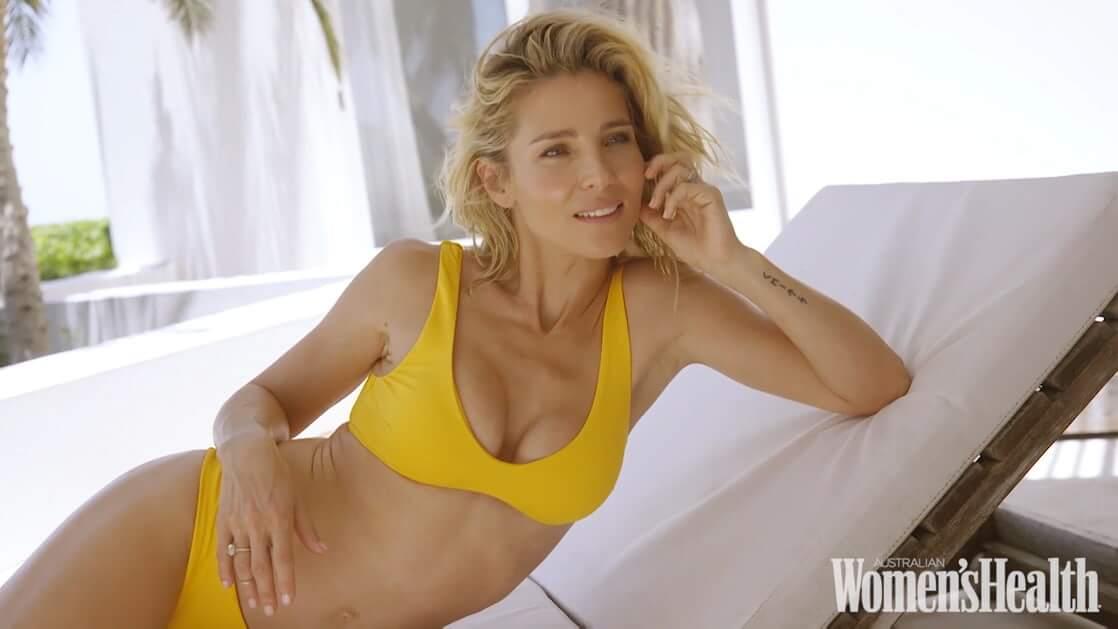 Elsa Pataky hot yellow bikini pics