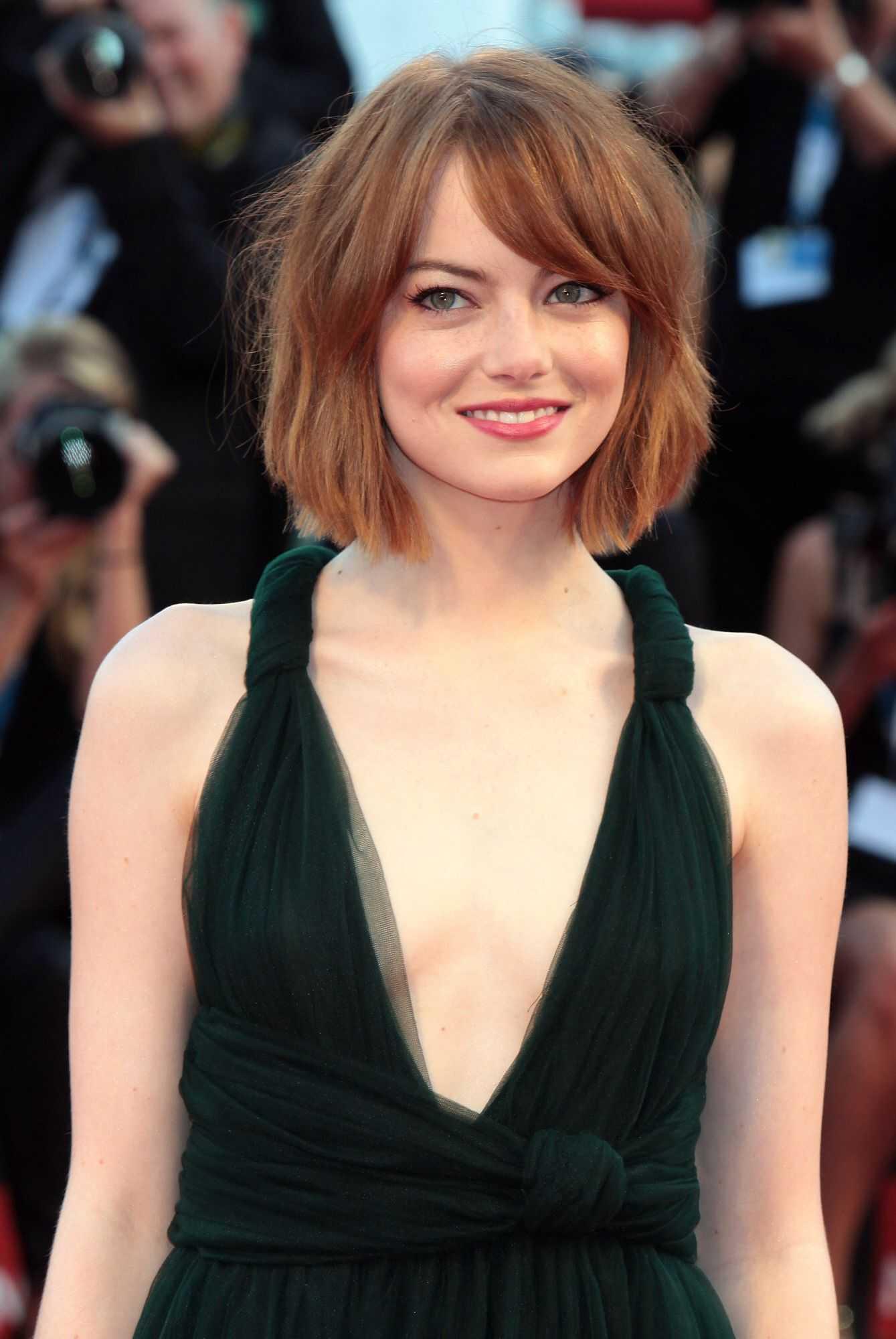 Emma Stone hot look