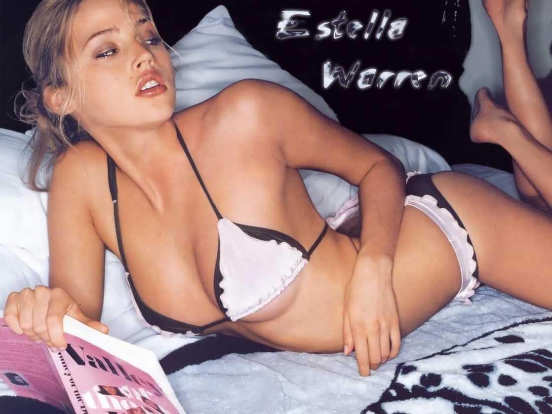 Estella Warren sexy look pics