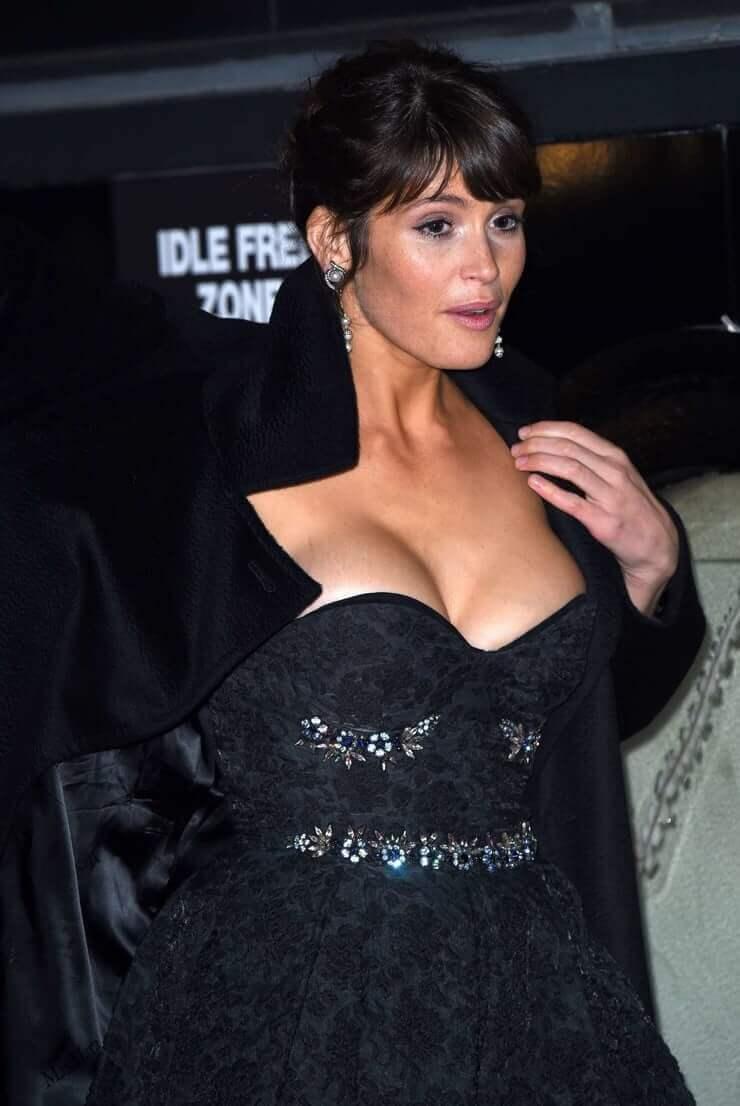 Gemma Arterton big busty pics