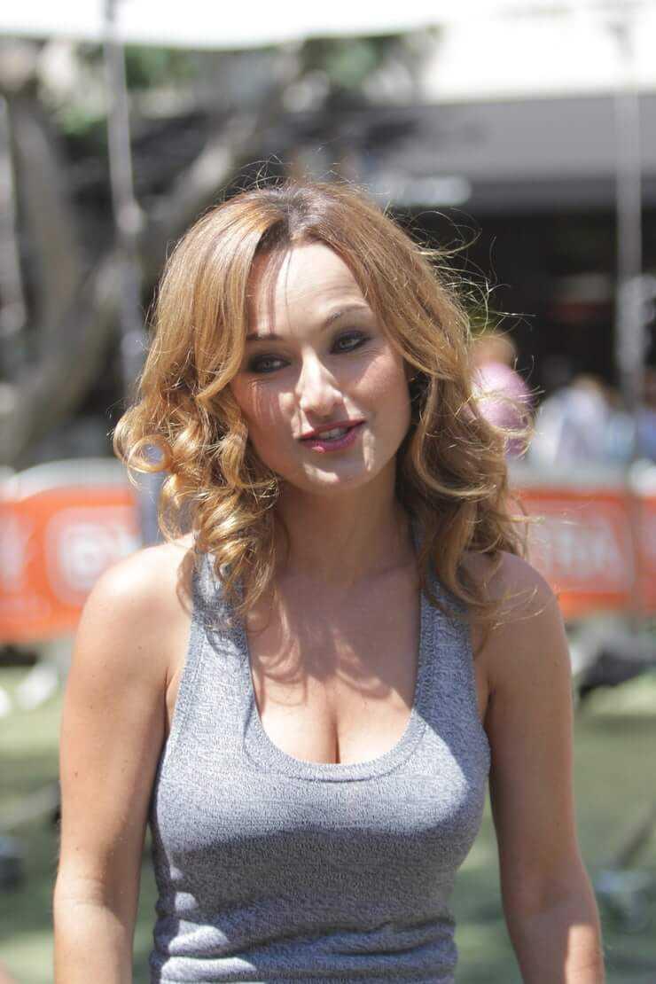 Giada De Laurentiis sexy cleavage pics