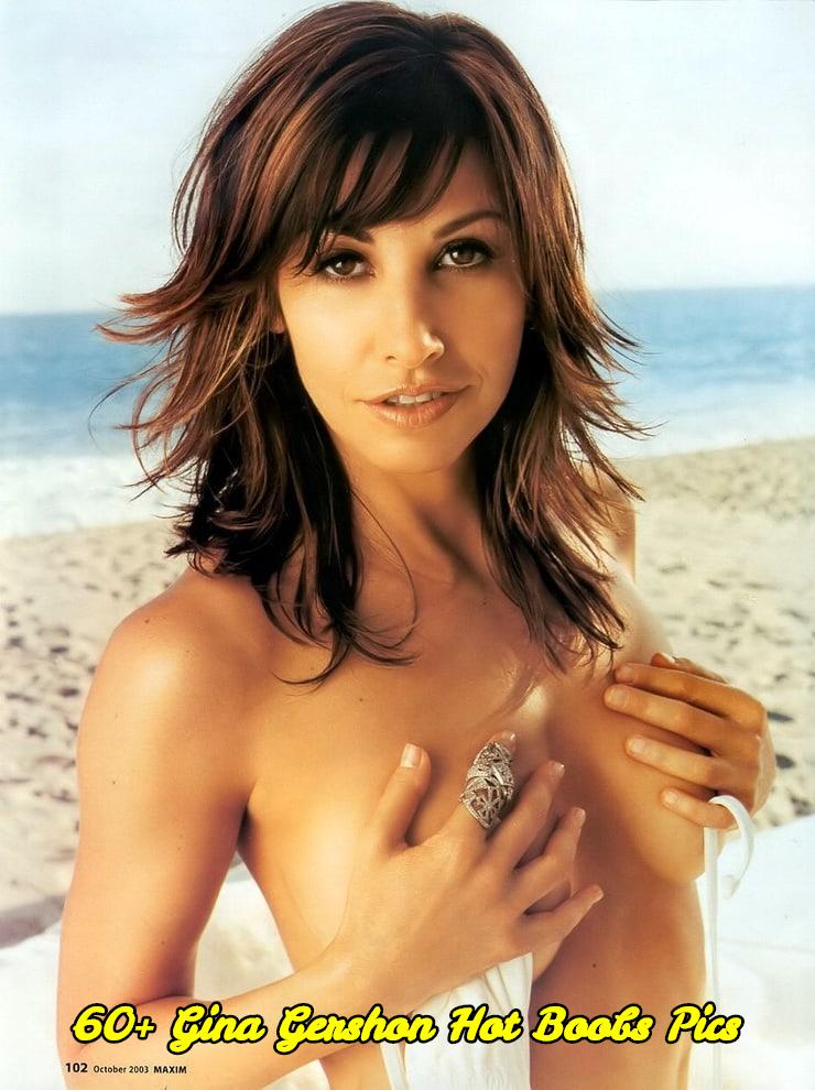 Gina Gershon hot boobs pics