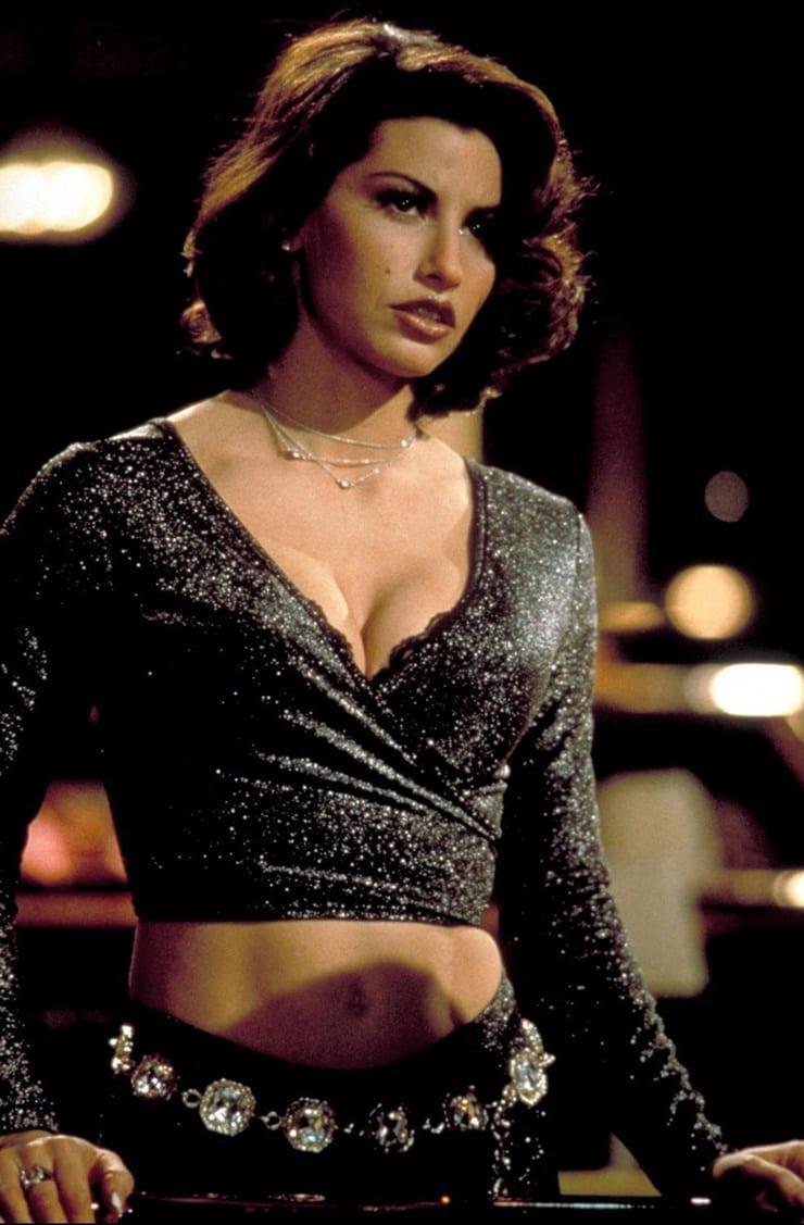 Gina Gershon hot cleavage pics
