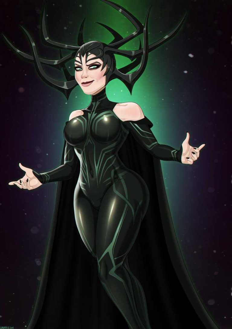 Hela hot look
