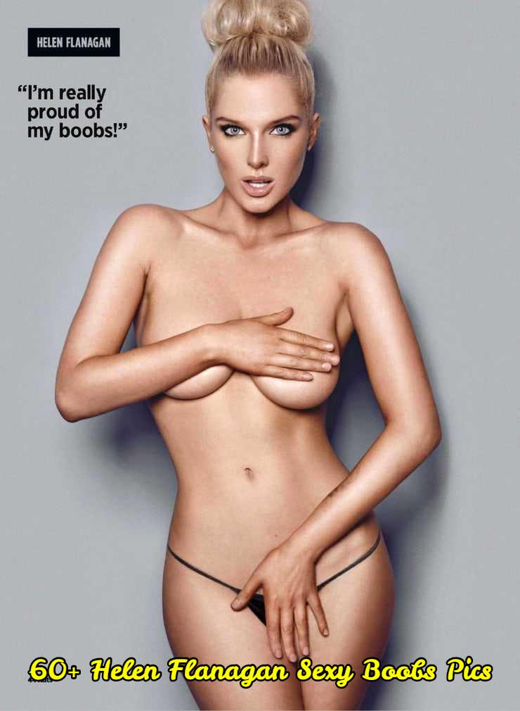 Helen Flanagan sexy boobs pics