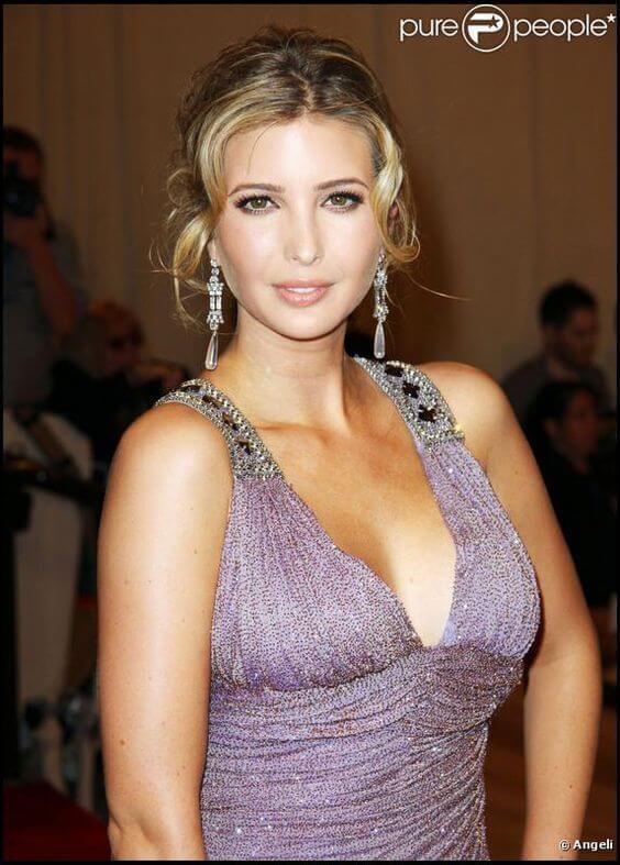Ivanka Trump cleavage pictures