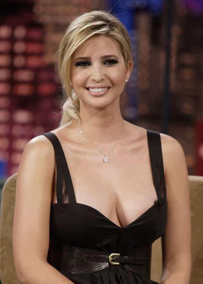 Ivanka Trump hot cleavage