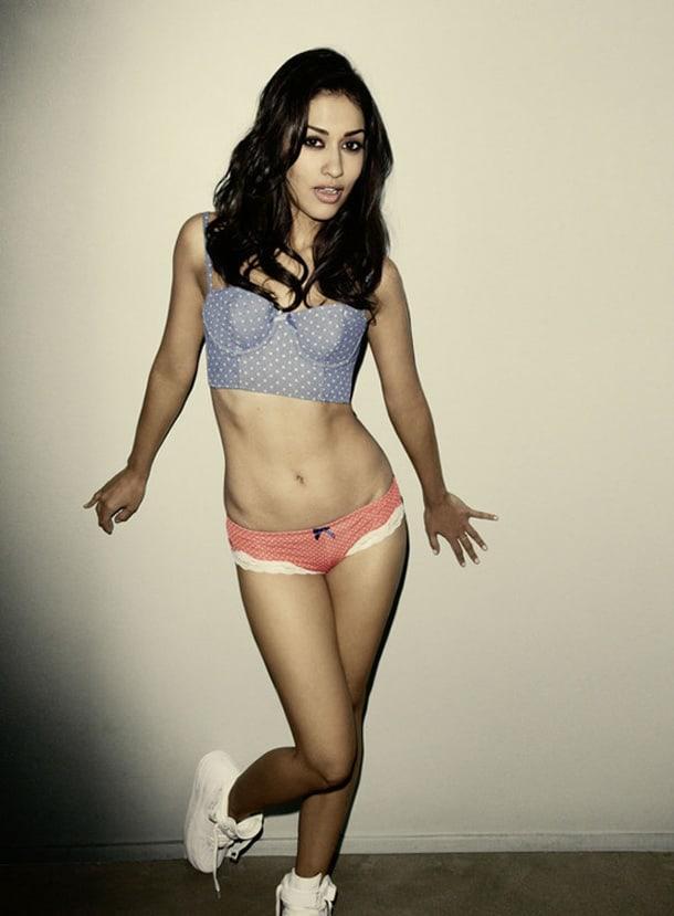 Janina Gavankar hot bikini pics