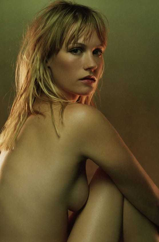 January Jones sexy topless pics