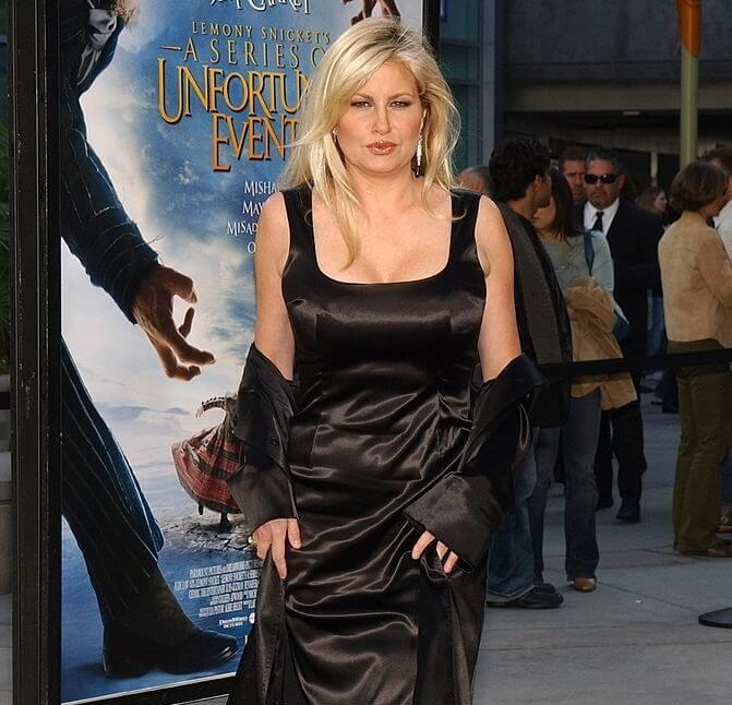 Jennifer Coolidge hot black dress pics