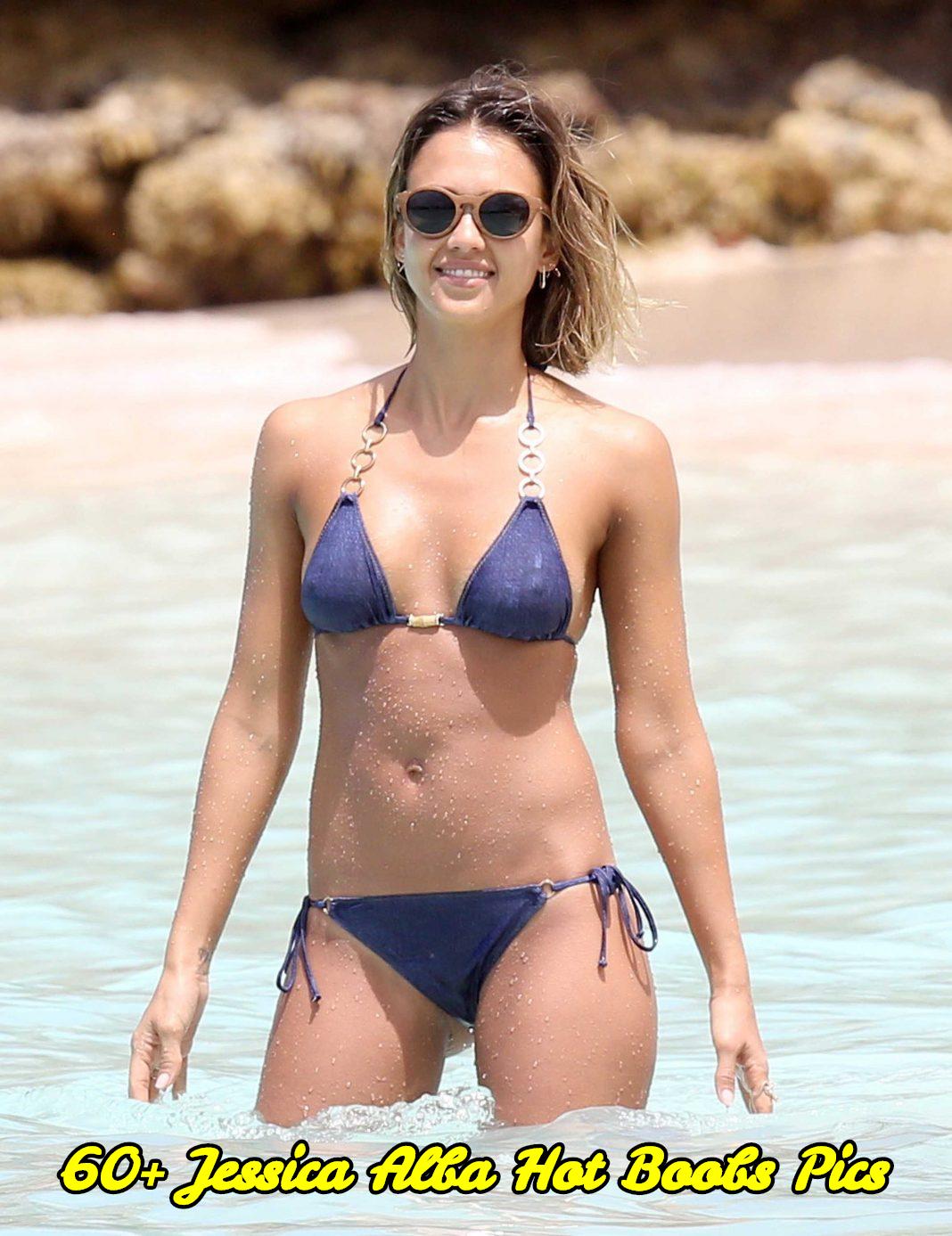 Jessica Alba hot boobs pics