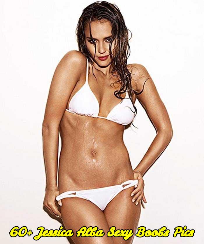 Jessica Alba sexy boobs pics