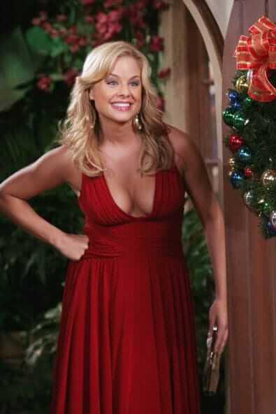 Jessica Collins sexy red dress pics