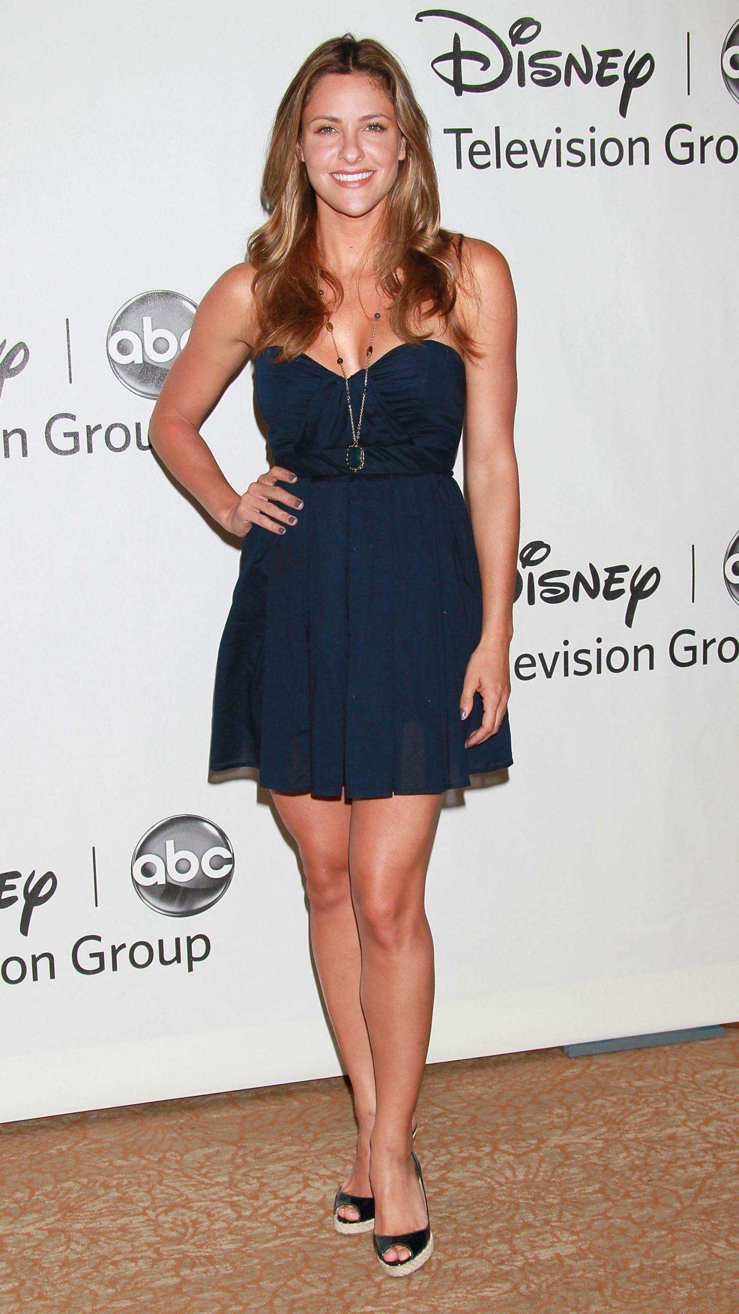 Jill Wagner sexy cleavage pictures