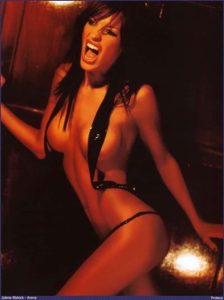 Jolene Blalock big boobs pics