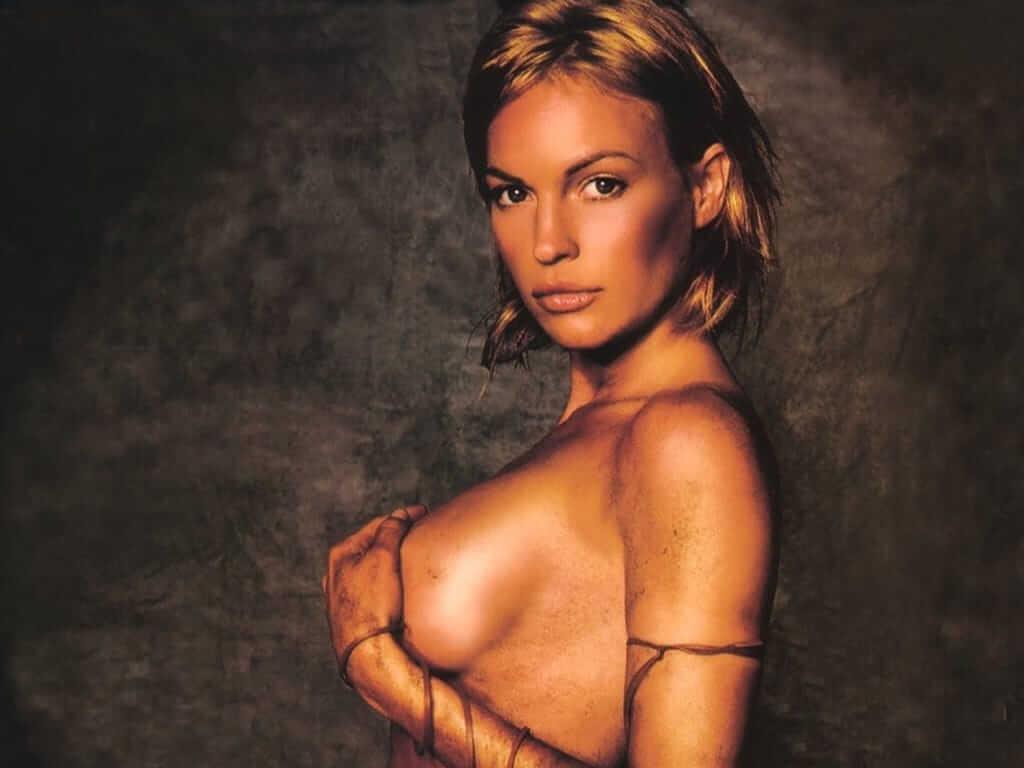 Jolene Blalock sexy side boobs pics