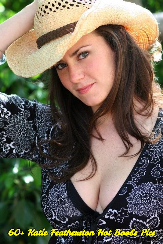 Katie Featherston hot boobs pics
