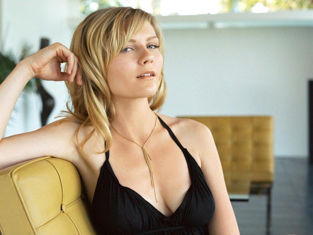 Kirsten Dunst sexy cleavage pics