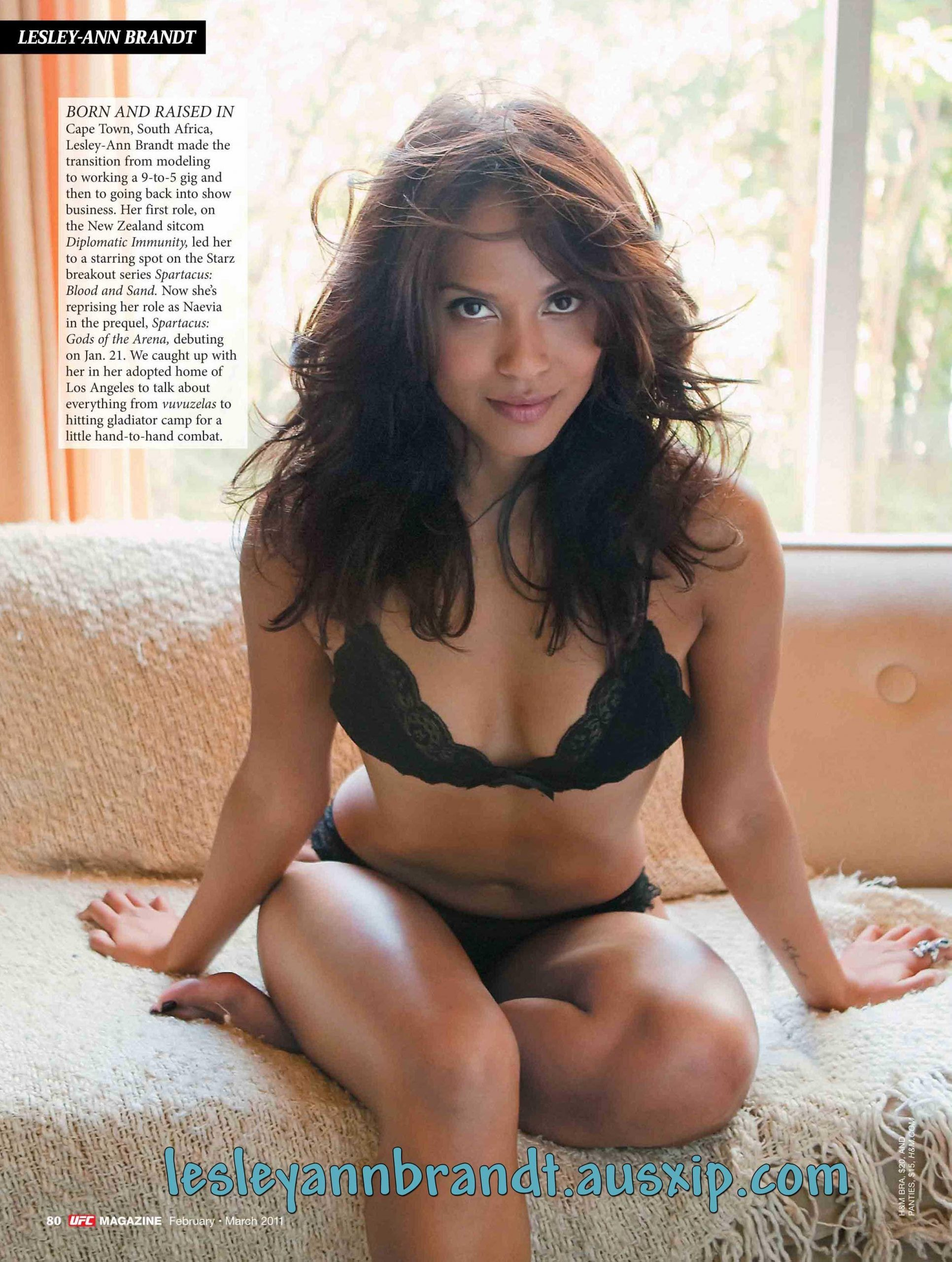 Lesley-Ann Brandt sexy