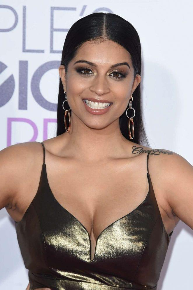Lilly Singh sexy cleavage