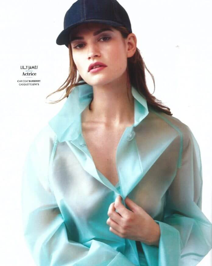 Lily James hot pictures