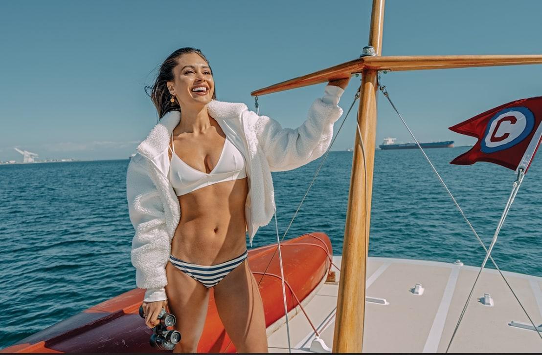 Lindsey Morgan bikini pics