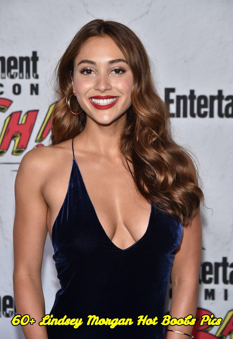 Lindsey Morgan hot boobs pics