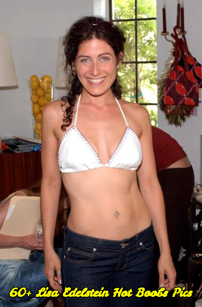 Lisa Edelstein hot boobs pics