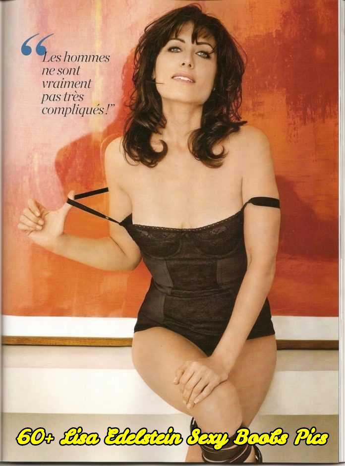Lisa Edelstein sexy boobs pics