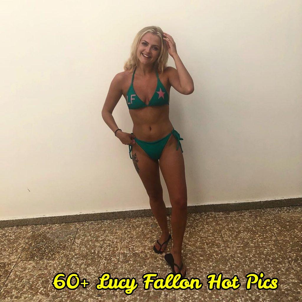 Lucy Fallon bikini pics