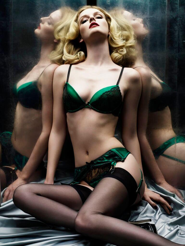 Lydia Hearst sexy lingerie pictures