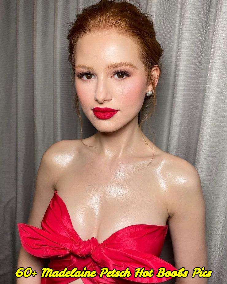 Madelaine Petsch hot boobs pics