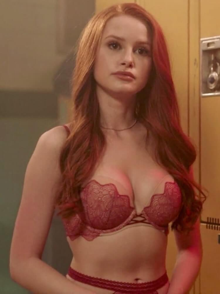 Madelaine Petsch sexy tits pics