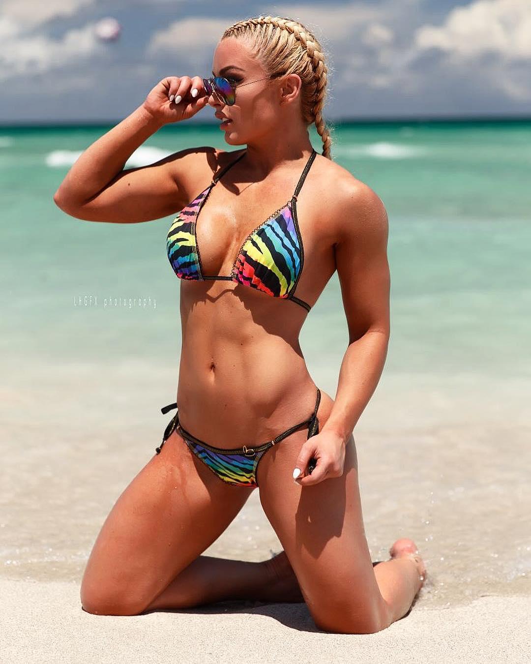 Mandy Rose hot photo
