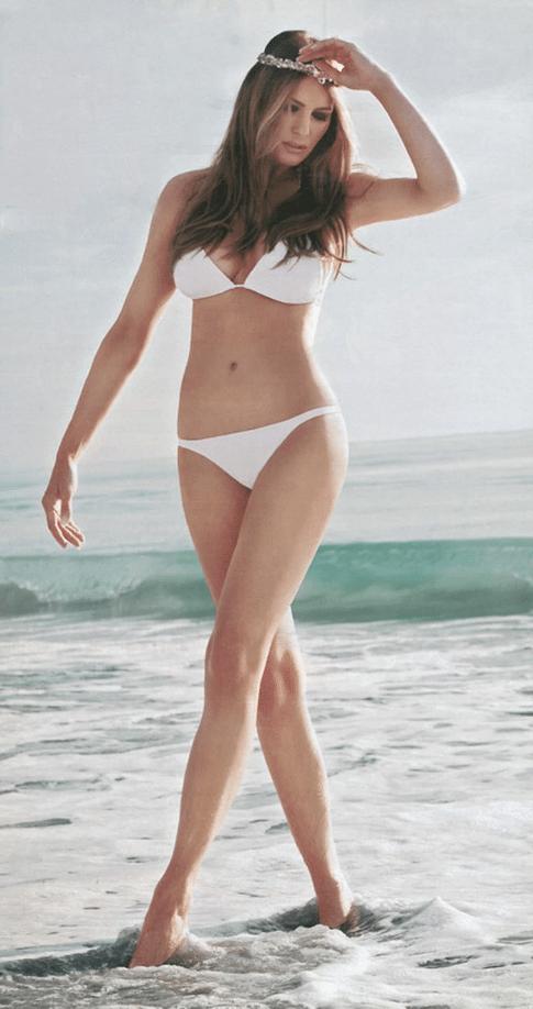 Melania Trump bikini pictures