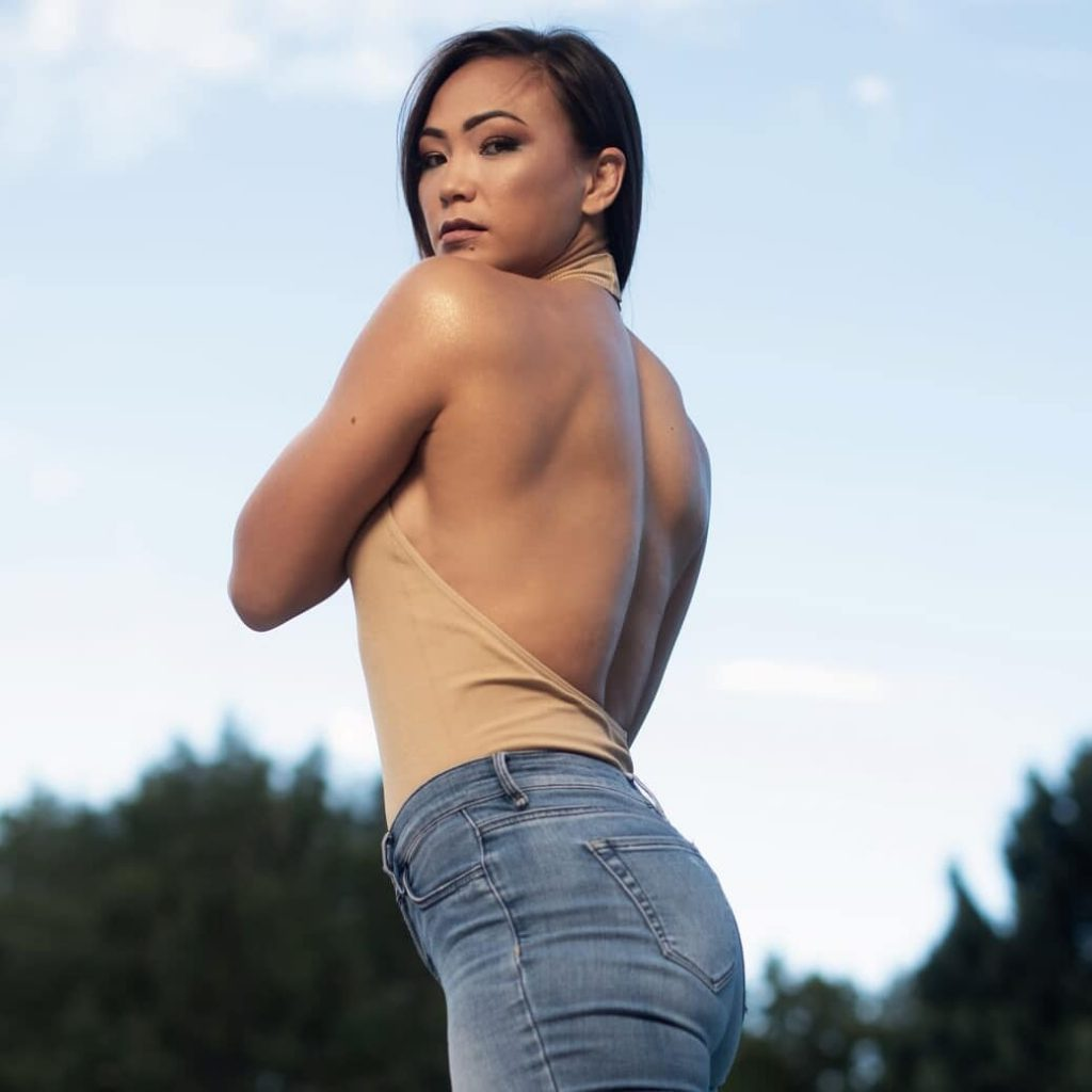 Michelle Waterson toples pics