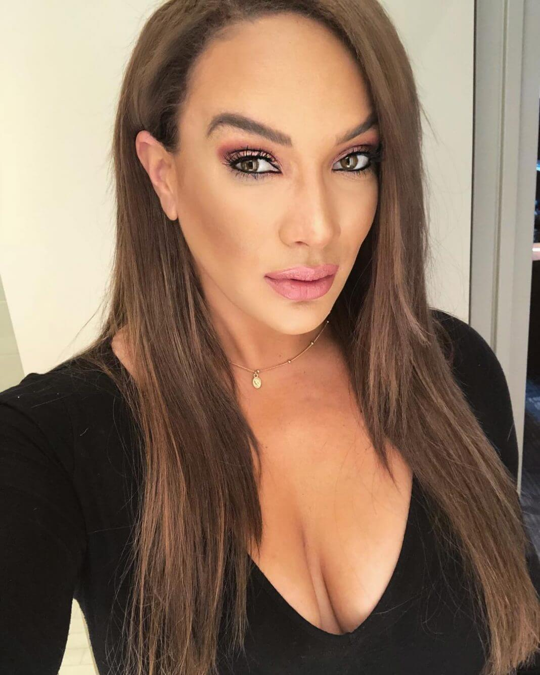 Nia Jax hot cleavage pictures