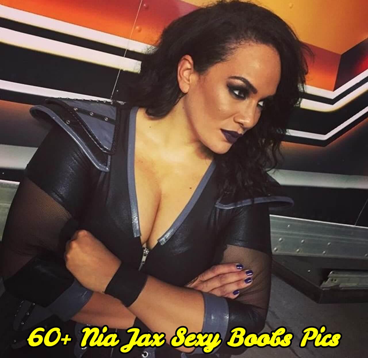 Nia Jax sexy boobs pics