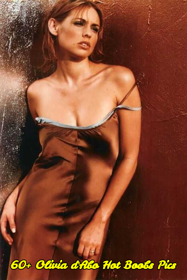 Olivia d'Abo hot boobs pics