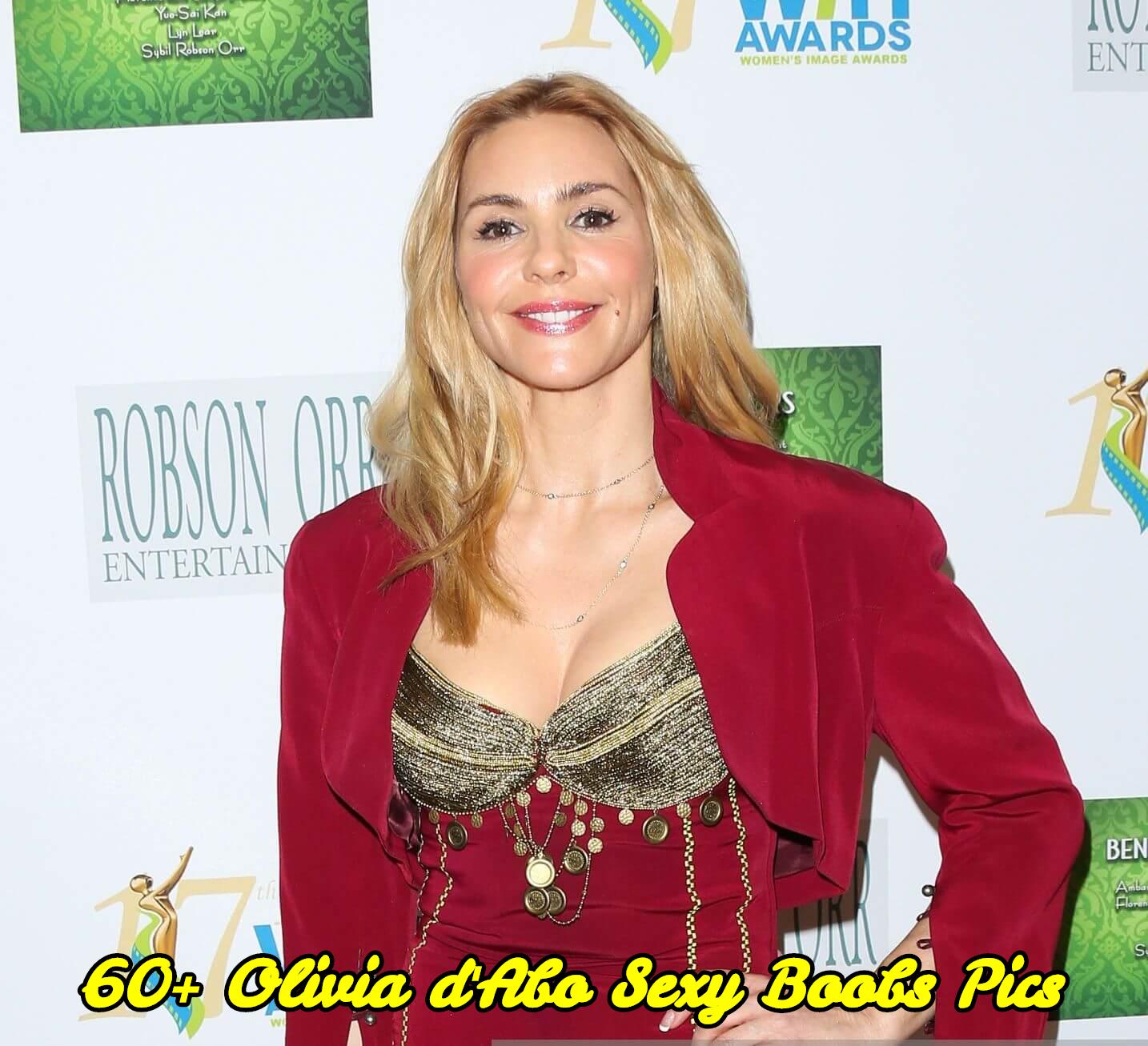 Olivia d'Abo sexy boobs pics