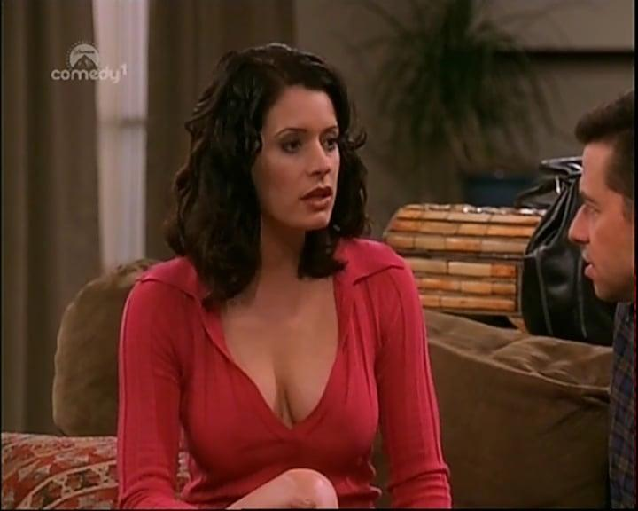 Paget Brewster hot cleavage pic