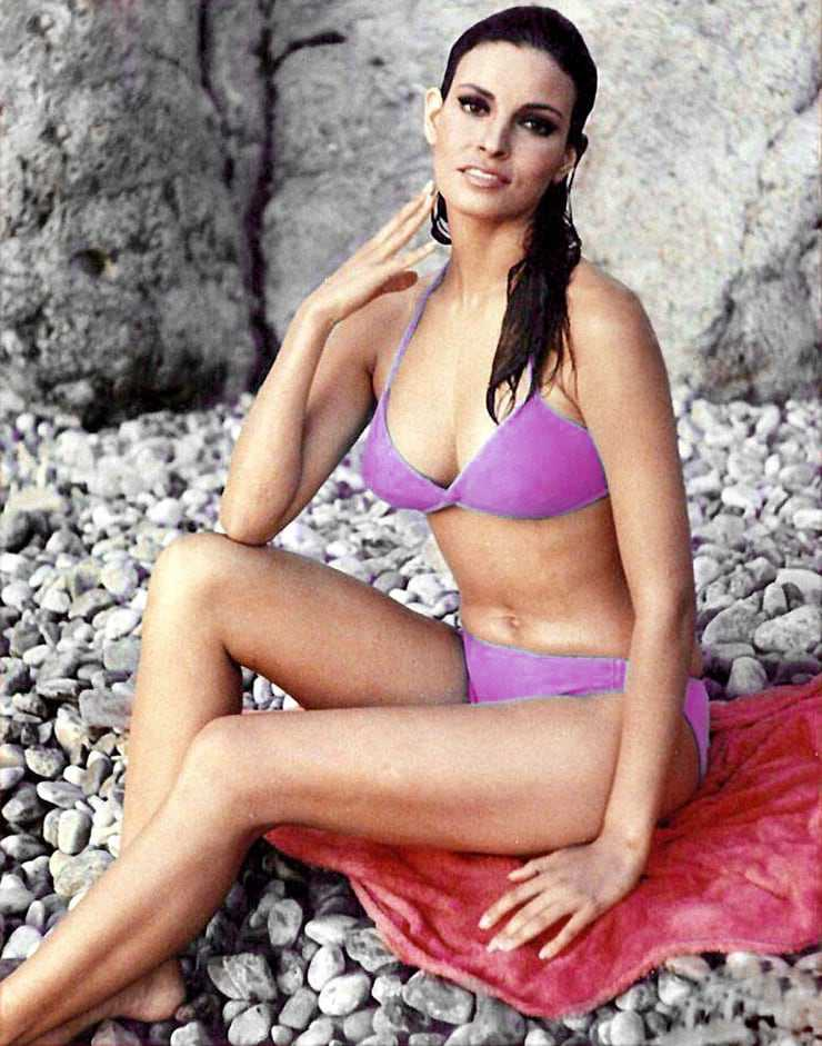 Raquel Welch cleavage pics