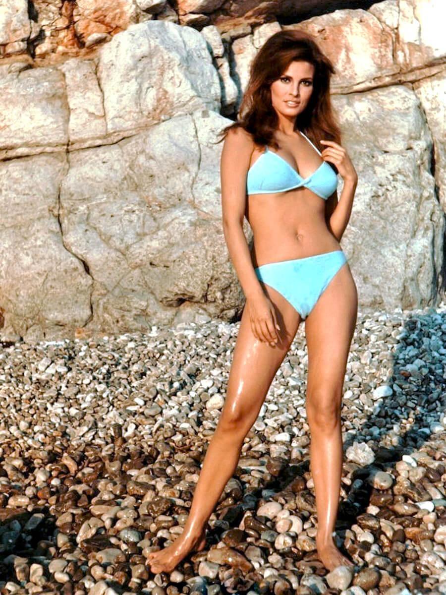 Raquel Welch hot bikini pics