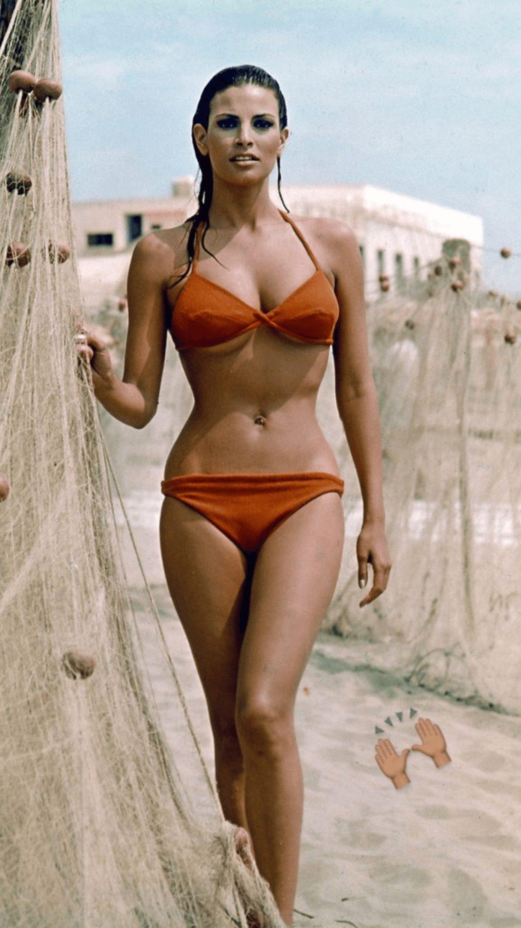Raquel Welch sexy bikini pics