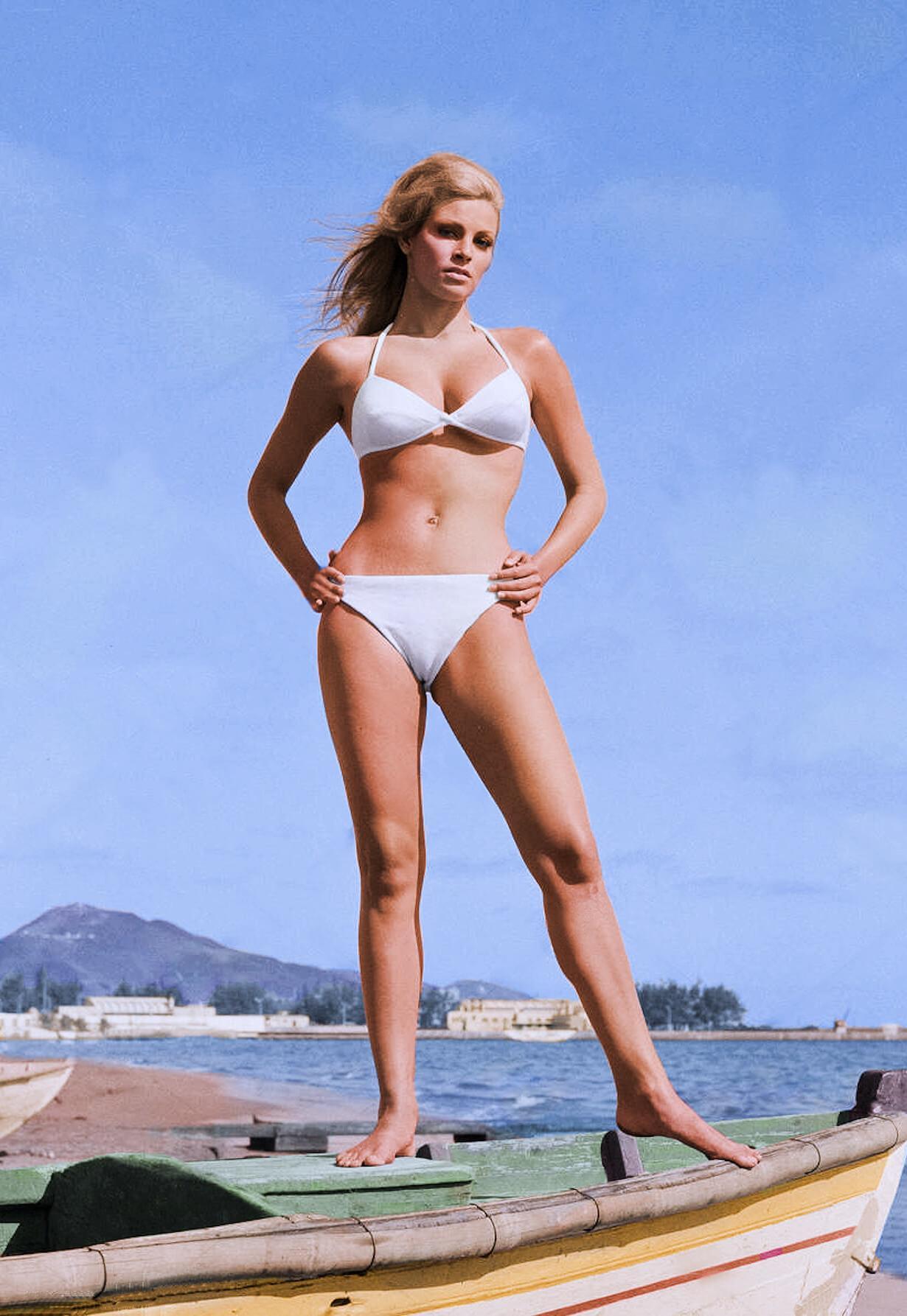 Raquel Welch sexy lingerie pics