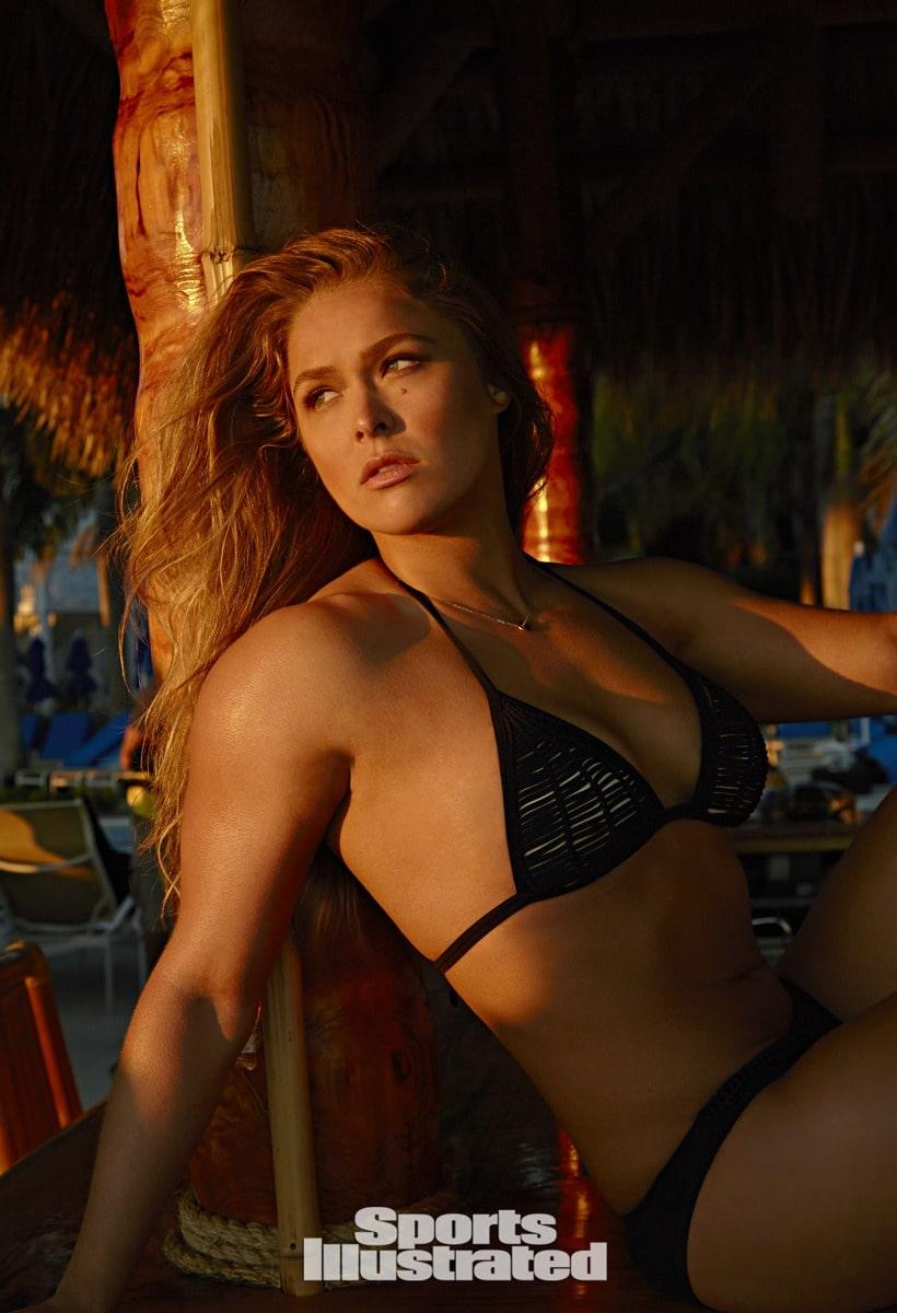 Ronda Rousey hot look