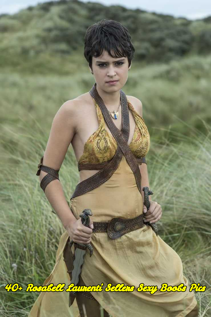 Rosabell Laurenti Sellers sexy boobs pics