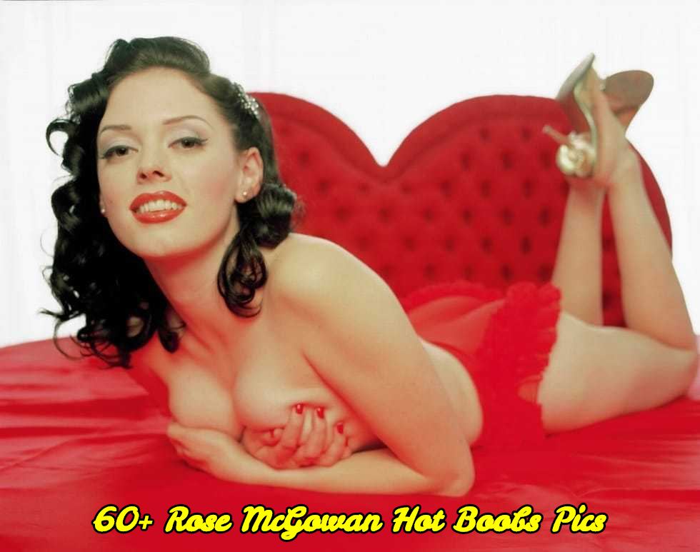 Rose McGowan hot boobs pics