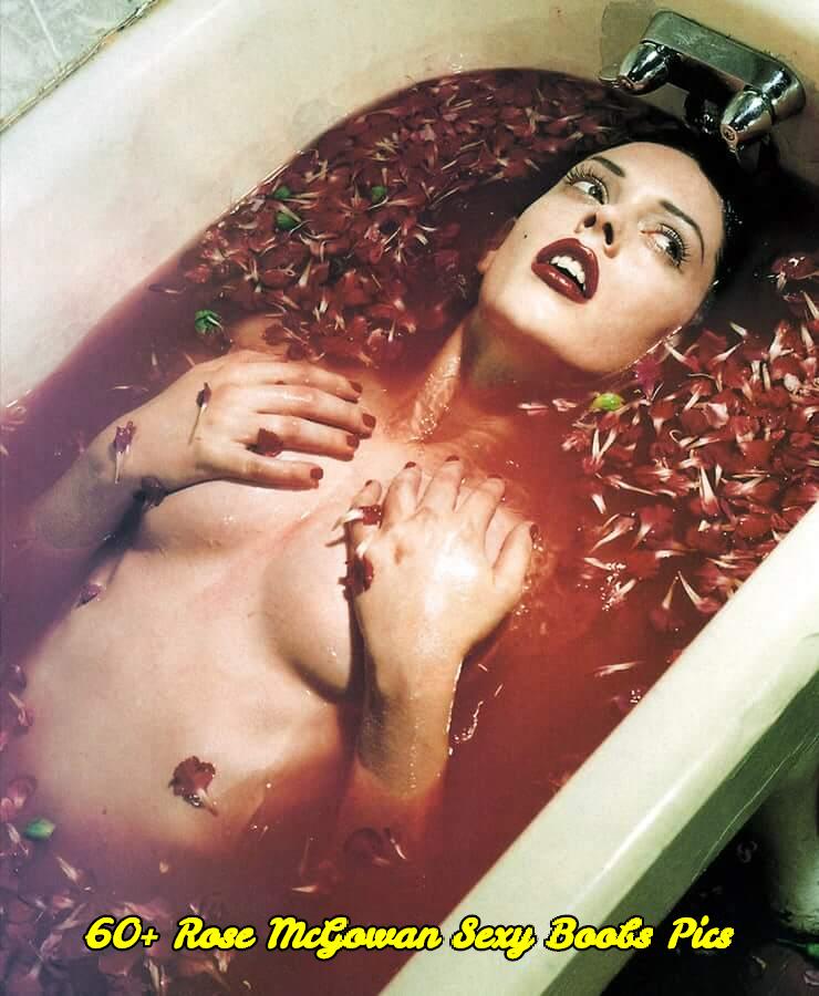 Rose McGowan sexy boobs pics