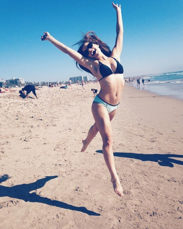 Sarah Jeffery lingerie pics